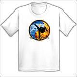 Fire VS Water - TAEKWONDO T-SHIRT - Um-Yang / Yin-Yang Design - YGSS-427 - Rhino Junction Apparel - 3