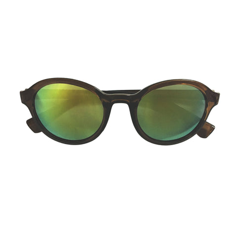 Round Reflector Sunglasses - Crochita - 1