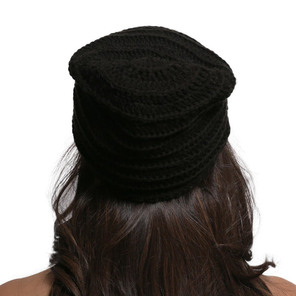 Dark Dreams Slouch Beanie Hat - Crochita - 3