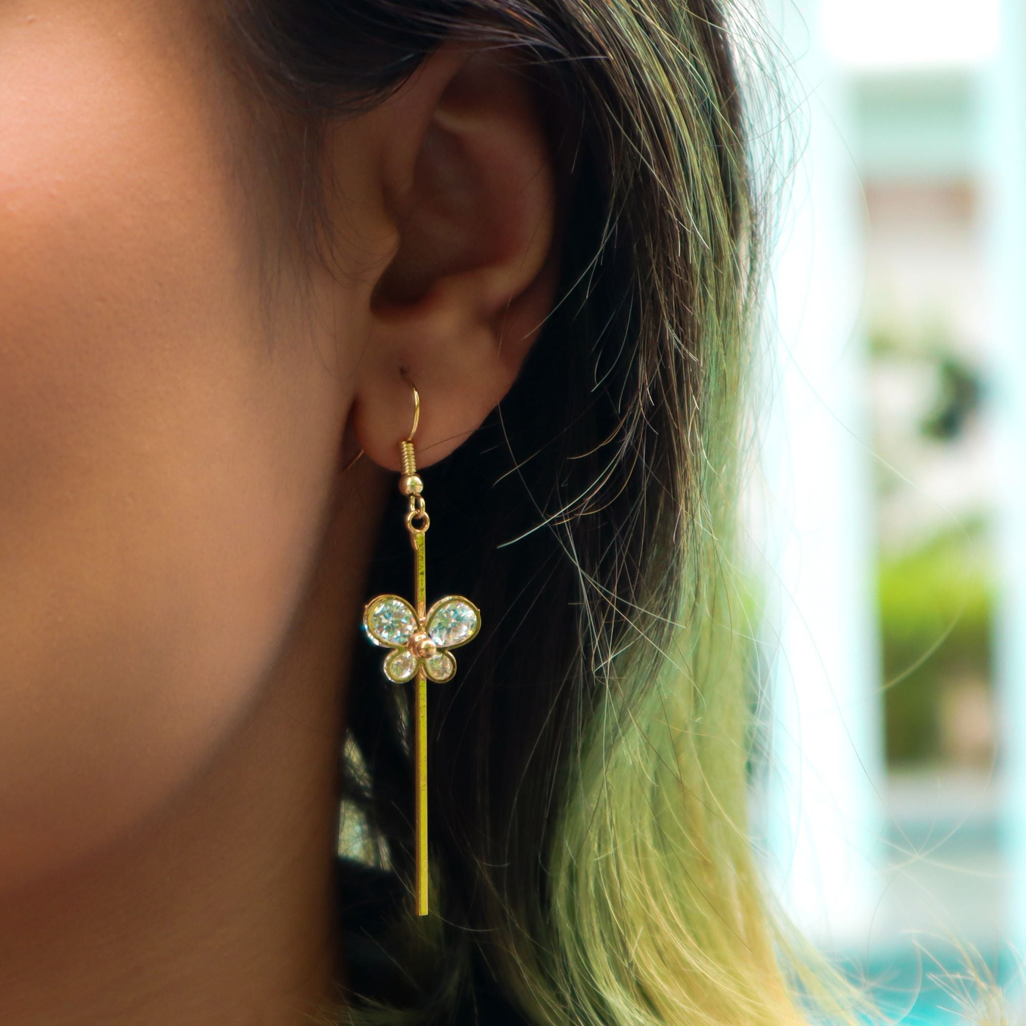 """Fly High"" Earring"