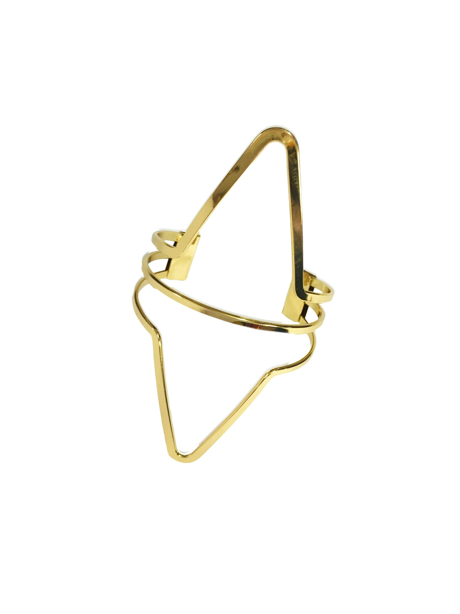 Frenzy Gold Bracelet - Crochita