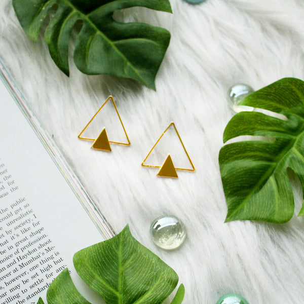 """Power Triad"" Earrings"