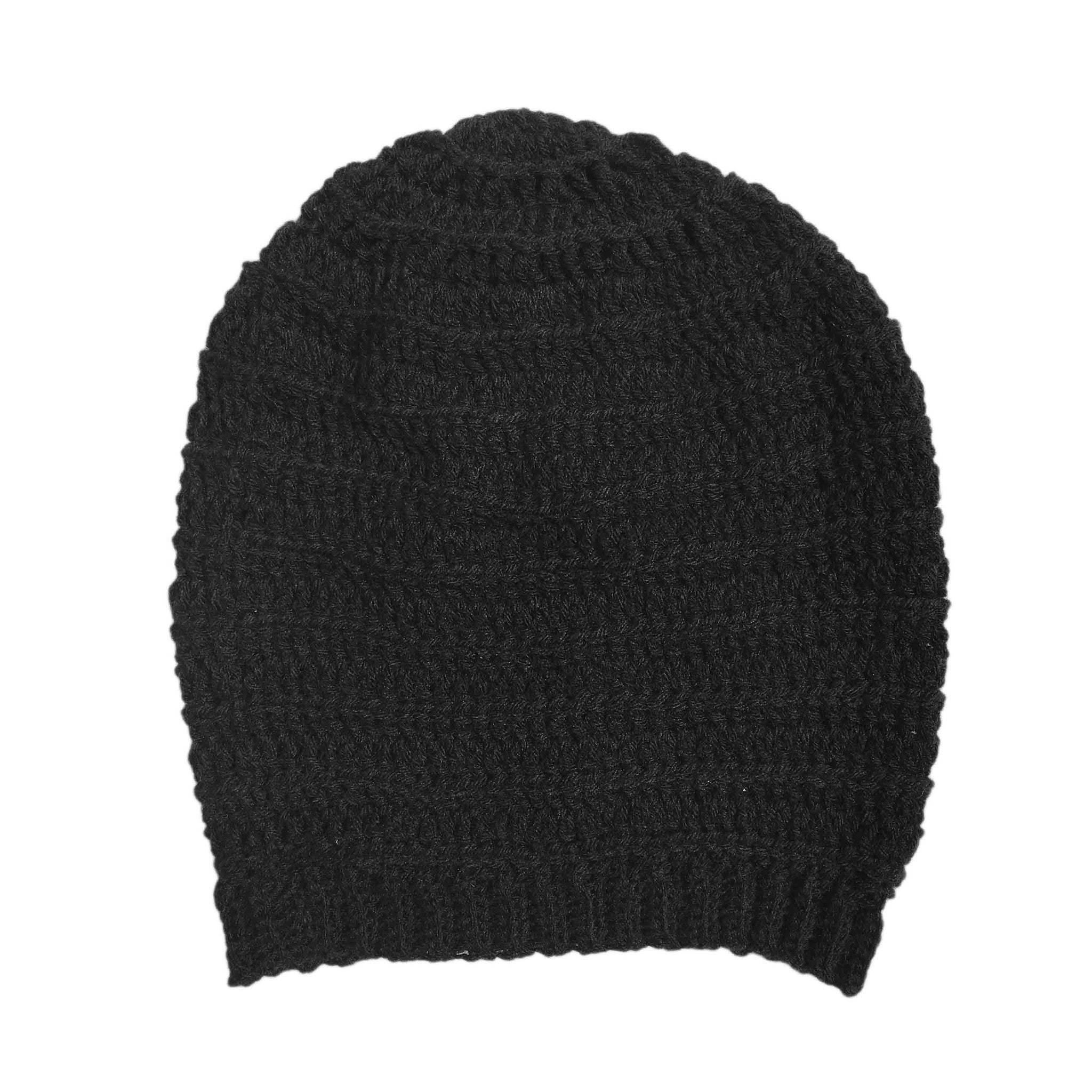 Dark Dreams Slouch Beanie Hat - Crochita - 4