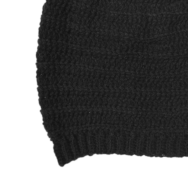 Dark Dreams Slouch Beanie Hat - Crochita - 5