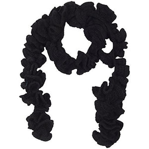 Malificent Curly Cue Crochet Handmade Scarf - Crochita - 1