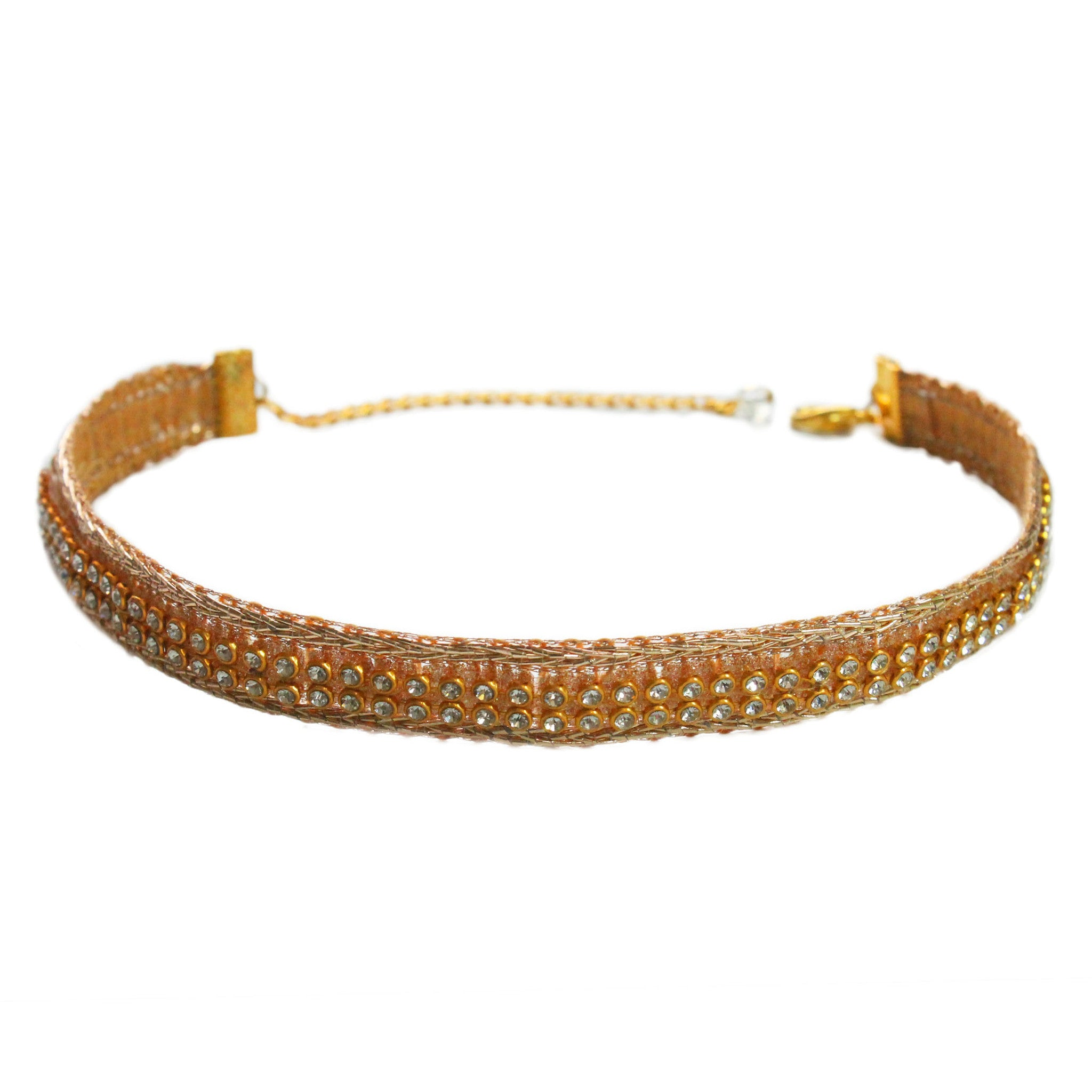 The Golden Onyx Choker Necklace - Crochita - 1