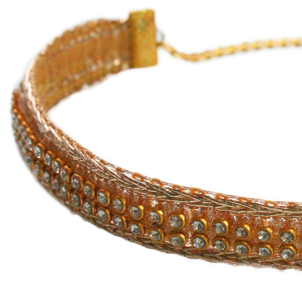 The Golden Onyx Choker Necklace - Crochita - 2
