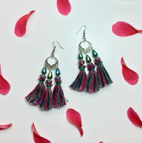Mixed Emotions Tassel Earring
