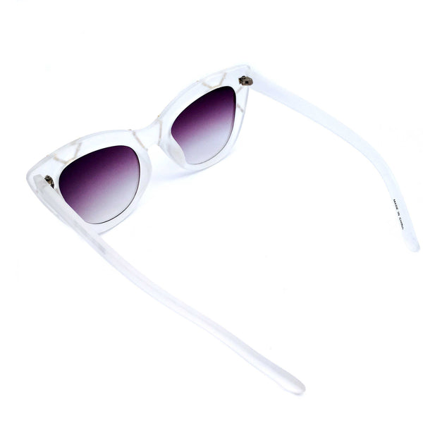 Pure Magic Misty Matte Finished Cat-eye Sunglasses - Crochita - 3