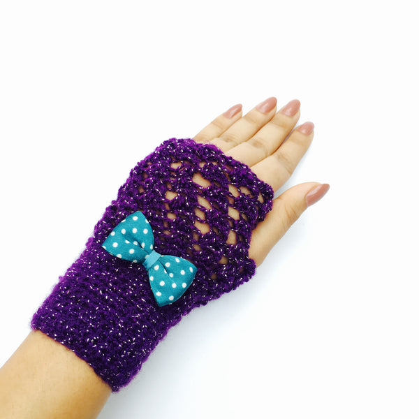 Belle Crochet Handmade Finger-less Gloves - Crochita - 3
