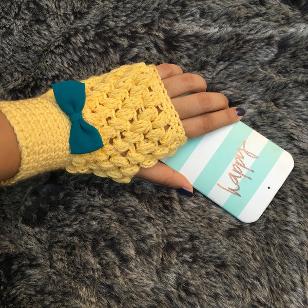 Canalopie All Season Crochet Handmade Fingerless gloves - Crochita - 3