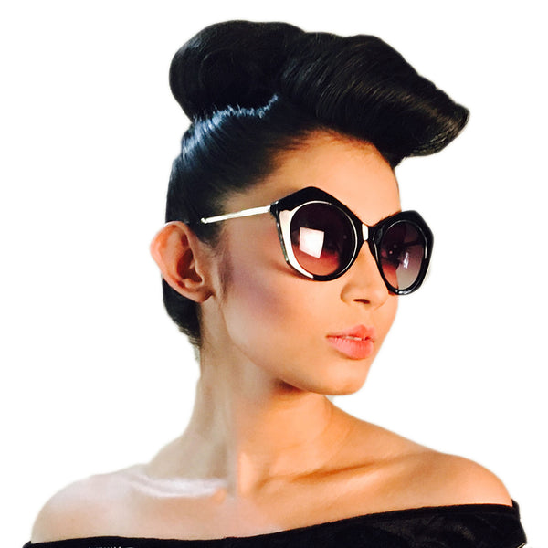Retro Chic Sunglass - Crochita - 2