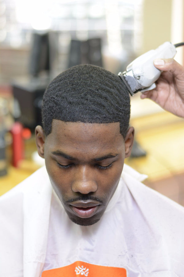 360 waves hair cut