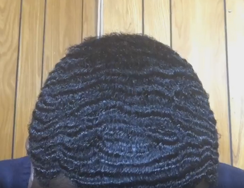 how to style textured coarse curly hair how to get 360 waves black men's hairstyles tutorial