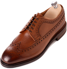 men's long wing blucher oxford wingtips brown leather what to wear fall style guide 2016 fall footwear