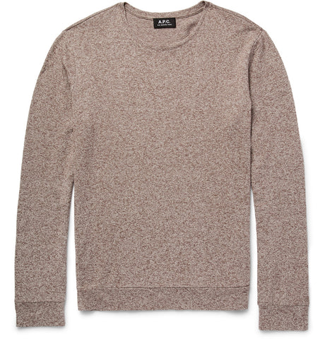 cotton linen blend sweater fall style guide best sweaters for men frederick benjamin grooming apc clothing