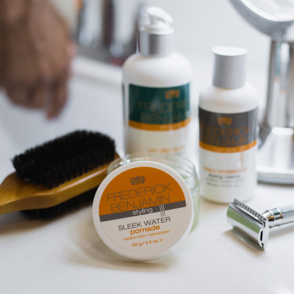 The Total Experience Men's Grooming Collection - Shave + Hair Care