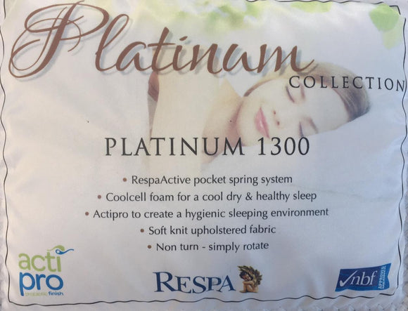 Respa Platinum 1500 Latex Pocket Super King Mattress