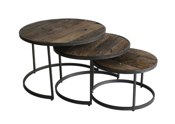 Savannah set of 3 coffee tables
