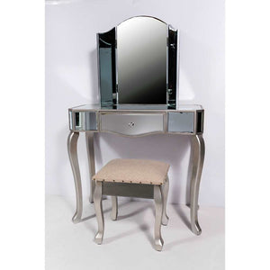 Mirror dressing table set