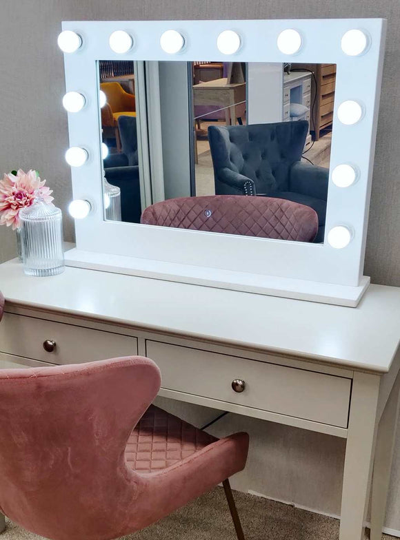 Large Hollywood Mirror