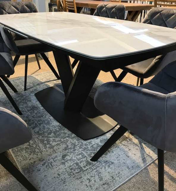 Glendale Marble extending Table