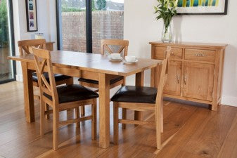 York Oak Dining Table