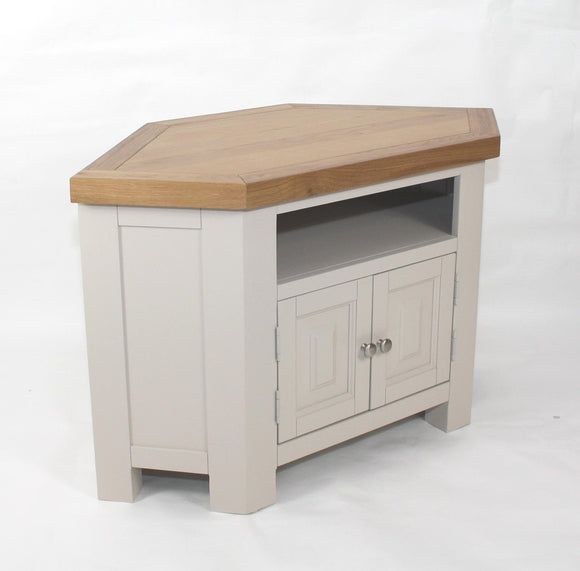 Bailey Oak Corner Tv Unit