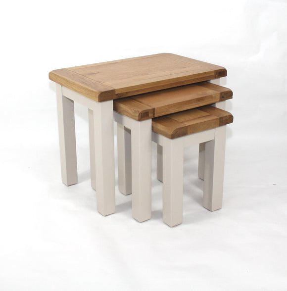 Bailey Oak Nest Of Tables