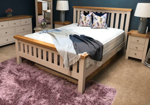 Bailey Oak Bed Frame