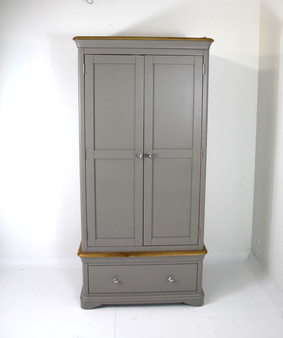Bordeaux 2 Door Wardrobe