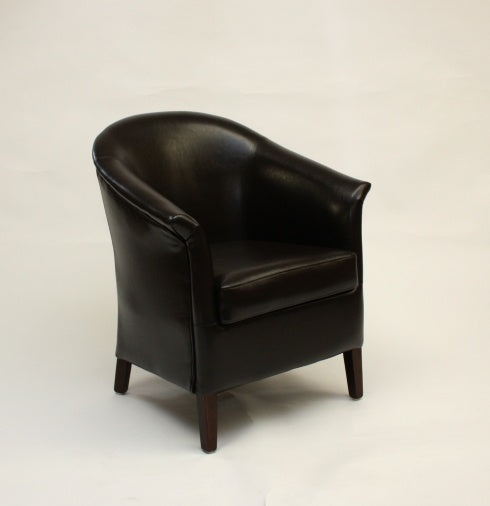 Ruby Brown Tub chair