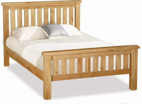 Stamford Oak Slatted Bed