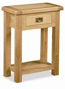 Stamford Oak 1 Drawer Hall Table
