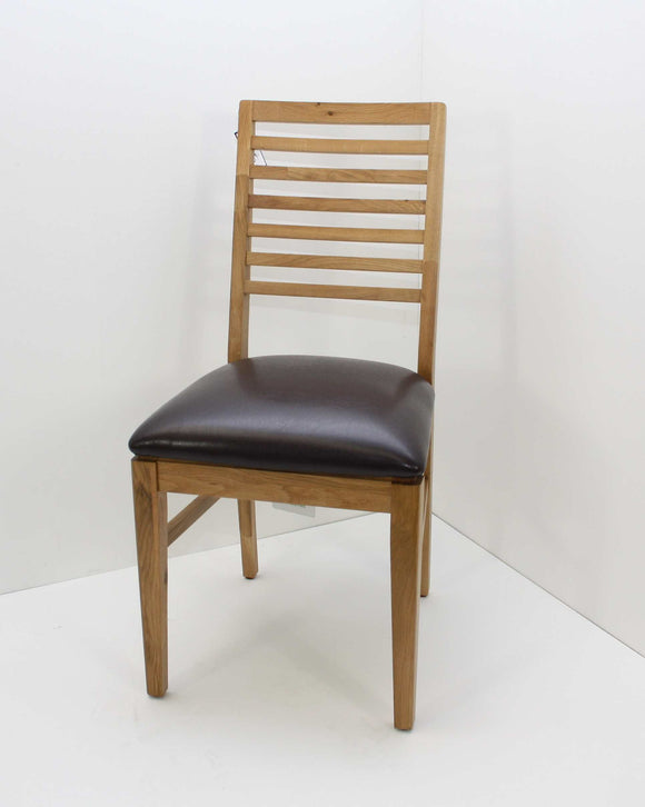 Helsinki oak Padded Dining Chair