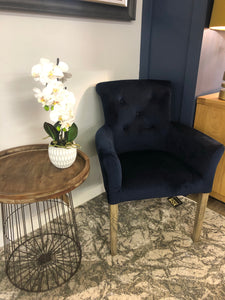 Holly Navy Chair