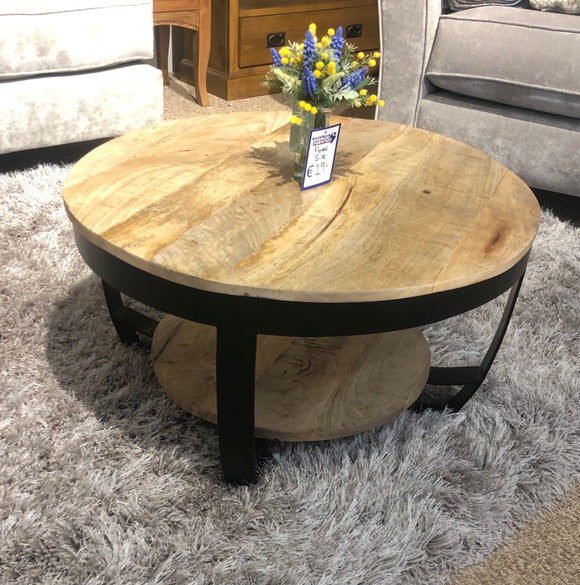 Vida Round Coffee Table