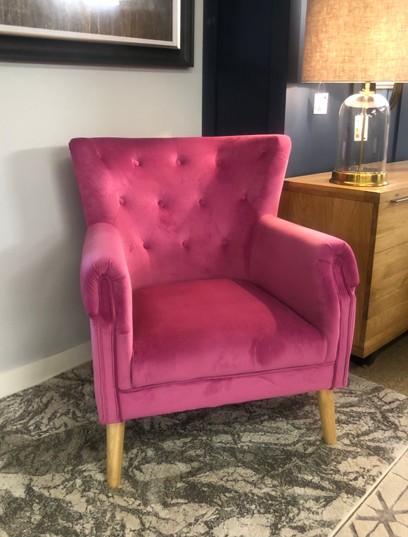 Jersey Pink Chair