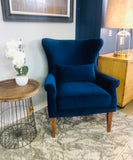 Merlon Royal Blue Chair