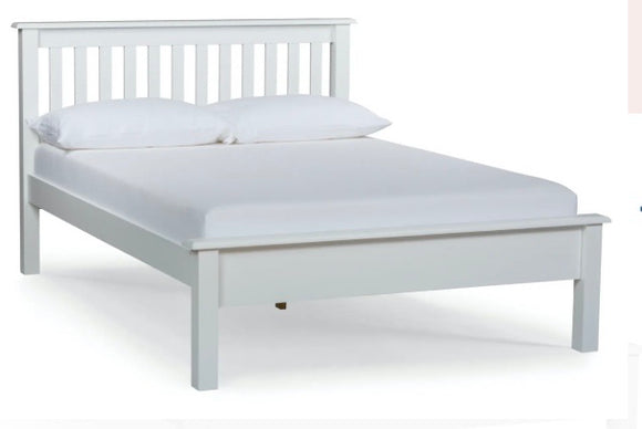 Lucey White Bed Frame
