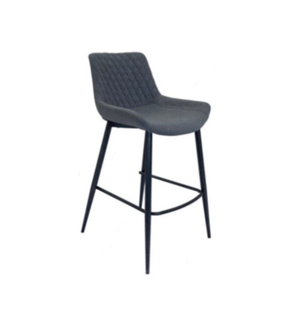 Hanley grey bar stool