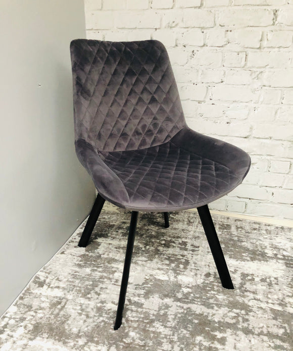 Hanley Grey dining chair
