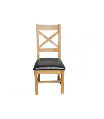 Klara oak X back chair