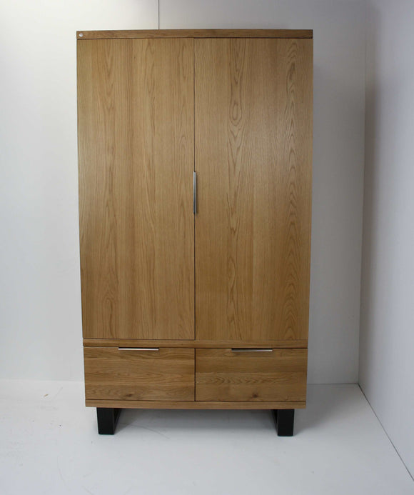 Loft 2 Door 2 Drawer Wardrobe