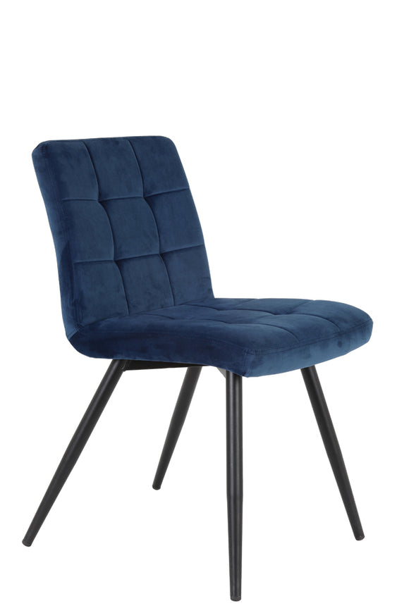 Oliver Navy Dining Chair