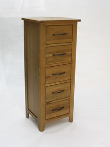 Pavilion oak Tallboy Chest