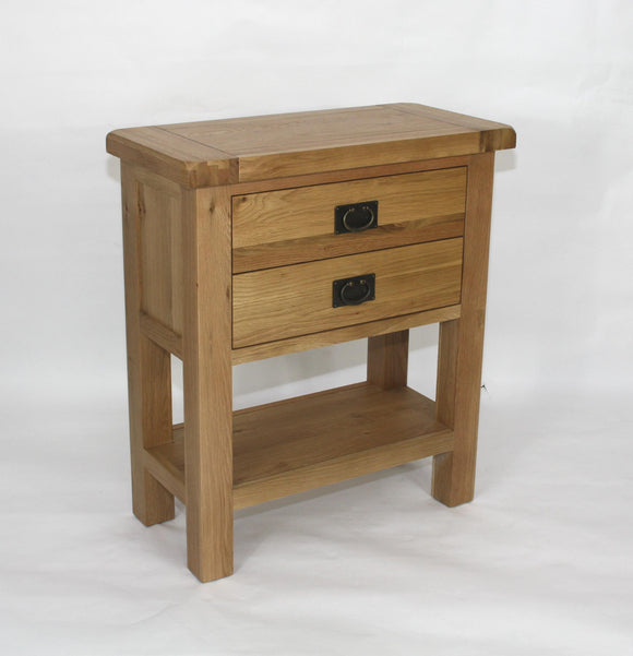 Stamford Oak Console Table 1+1