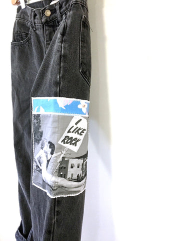 VINTAGE DENIM PANTS