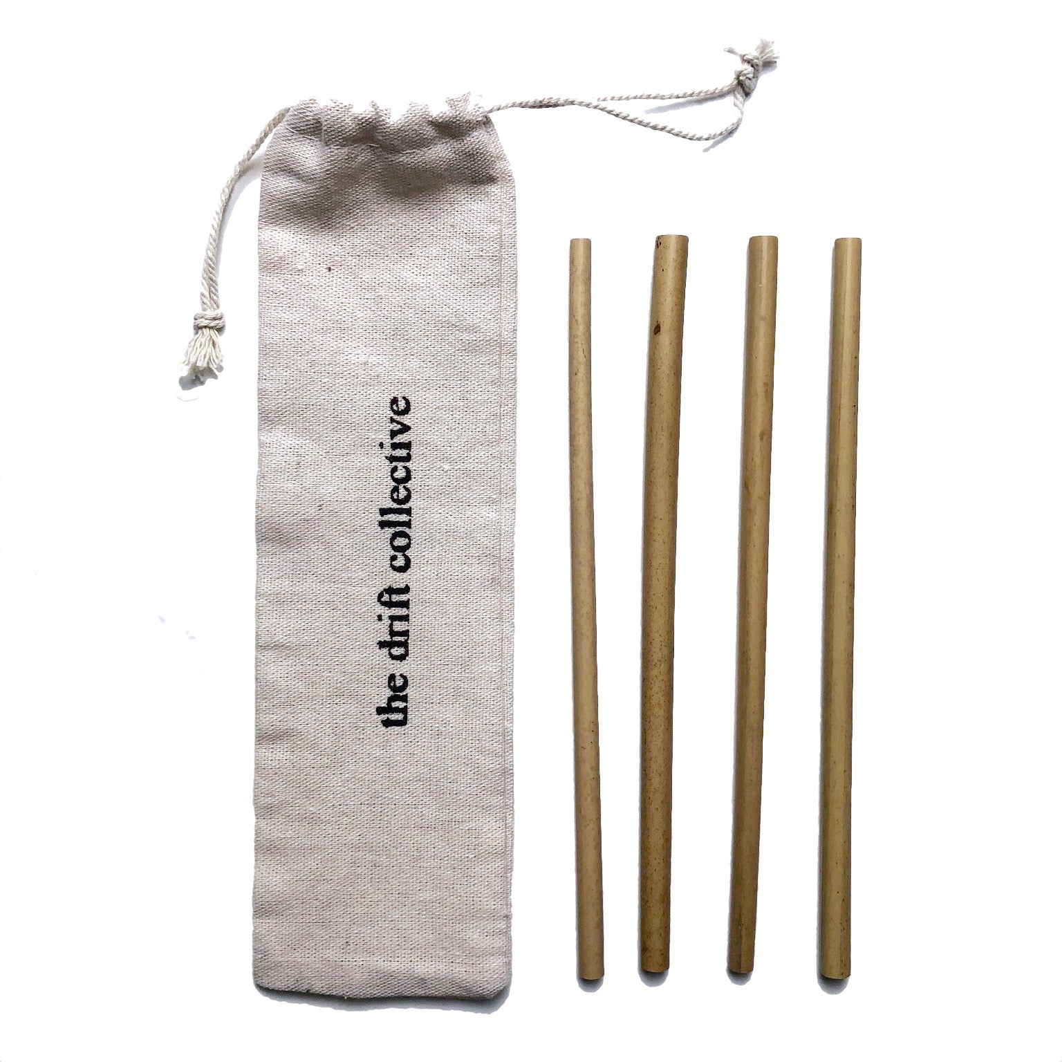 reusable straws. bamboo straw set. stainless steel straw set
