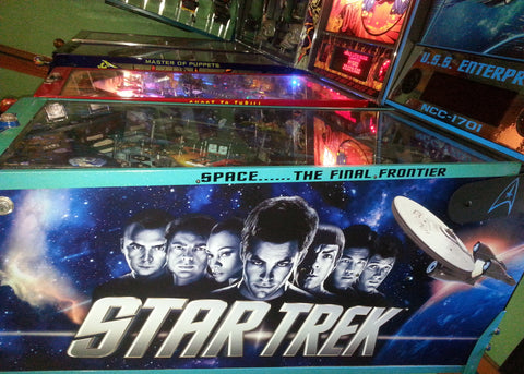 Star Trek Cabinet Decal